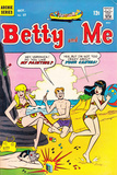 Archie Comics Retro: Betty and Me Comic Book Cover 17 (Aged) Poster