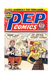 Archie Comics Retro: Pep Comic Book Cover 73 (Aged) Posters by Bob Montana