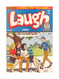 Archie Comics Retro: Laugh Comic Book Cover 25 (Aged) Posters by Al Fagaly