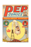 Archie Comics Retro: Pep Comic Book Cover No.50 (Aged) Posters by Harry Sahle