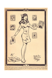 Archie Comics Retro: Archie Comic Panel With Love Veronica Lodge (Aged) Prints by Harry Sahle