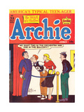 Archie Comics Retro: Archie Comic Book Cover 33 (Aged) Poster by Al Fagaly