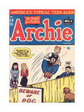 Archie Comics Retro: Archie Comic Book Cover 14 (Aged) Kunstdruck von Bill Vigoda