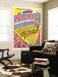 Archie Comics Retro: Archie and His Gang are on the Air! Radio Broadcast Advertisement (Aged) Wall Mural