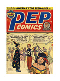 Archie Comics Retro: Pep Comic Book Cover No.79 (Aged) Art by Bob Montana