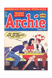 Archie Comics Retro: Archie Comic Book Cover No.32 (Aged) Plakater av Al Fagaly