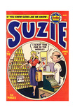 Archie Comics Retro: Suzie Comic Book Cover No.76 (Aged) Prints