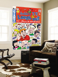 Archie Comics Retro: Archie's T.V. Laugh-out Cover No.1 with Sabrina the Teen-age Witch (Aged) Wall Mural