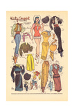 Archie Comics Retro: Katy Keene Cowgirl Fashions (Aged) Kunstdrucke von Bill Woggon