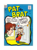 Archie Comics Retro: Pat the Brat Comic Book Cover No.18 (Aged) Prints