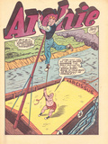 Archie Comics Retro: Archie Comic Panel with Mr. Weatherbee (Aged) Prints by Harry Sahle