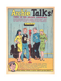 Archie Comics Retro: Archie Talks! Radio Broadcast Advertisement (Aged) Prints