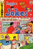 Archie Comics Retro: Reggie's Jokes Comic Book Cover 9 (Aged) Print