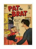 Archie Comics Retro: Pat the Brat Comic Book Cover 17 (Aged) Prints