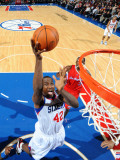 Los Angeles Clippers v Philadelphia 76ers: Elton Brand Photographic Print by Jesse D. Garrabrant