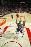 Memphis Grizzlies v Houston Rockets: O.J. Mayo and Luis Scola Photographic Print by Bill Baptist