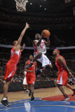 Los Angeles Clippers v Detroit Pistons: Will Bynum Photographic Print by Allen Einstein
