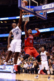 Philadelphia 76ers v Orlando Magic: Marreese Speights and Brandon Bass Photographic Print by Sam Greenwood