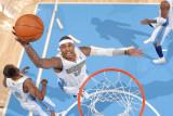 Orlando Magic v Denver Nuggets: Carmelo Anthony Photographic Print by Garrett Ellwood