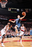 Minnesota Timberwolves v Portland Trail Blazers: Marcus Camby and Luke Ridnour Photographic Print by Sam Forencich