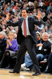 Miami Heat v Washington Wizards: Eric Spoelstra Photographic Print by Greg Fiume