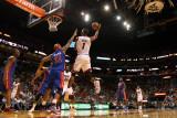 Detroit Pistons v Miami Heat: Chris Bosh and Charlie Villanueva Photographic Print by Mike Ehrmann