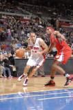 Los Angeles Clippers v Detroit Pistons: Tayshaun Prince and Ryan Gomes Photographic Print by Allen Einstein