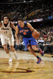 New York Knicks v Cleveland Cavaliers: Danilo Gallinari and Anderson Varejao Photographic Print by David Liam Kyle