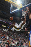 Golden State Warriors v Utah Jazz: Jeremy Evans Photographie par Melissa Majchrzak