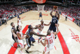 Memphis Grizzlies v Houston Rockets: Rudy Gay and Shane Battier Photographic Print by Bill Baptist