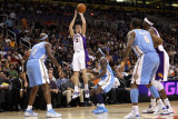 Denver Nuggets v Phoenix Suns: Goran Dragic Photographic Print by Christian Petersen