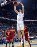 Cleveland Cavaliers  v Oklahoma City Thunder: Nick Collison Photographic Print by Layne Murdoch