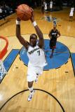 Miami Heat v Washington Wizards: Andray Blatche Photographic Print by Ned Dishman