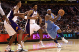 Denver Nuggets v Phoenix Suns: Carmelo Anthony and Josh Childress Lmina fotogrfica por Christian Petersen