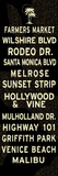 Los Angeles Sign Posters
