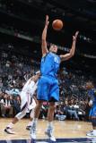 Dallas Mavericks v Atlanta Hawks: Dirk Nowitzki Photographic Print by Scott Cunningham