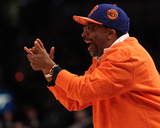 New Jersey Nets v New York Knicks: Spike Lee Photo by Nick Laham