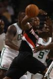 Portland Trail Blazers v Boston Celtics: Dante Cunningham and Glen Davis Photographic Print by  Elsa