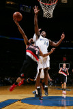 Portland Trail Blazers v Washington Wizards: Patrick Mills and Al Thornton Photographic Print by Ned Dishman