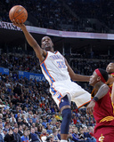 Cleveland Cavaliers  v Oklahoma City Thunder: Kevin Durant Photographic Print by Layne Murdoch