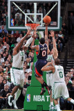 Atlanta Hawks v Boston Celtics: Jeff Teague Photographic Print by Steve Babineau
