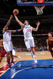 Cleveland Cavaliers  v Philadelphia 76ers: Spencer Hawes and Anderson Varejao Photographic Print by Jesse D. Garrabrant