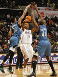 Minnesota Timberwolves v Charlotte Bobcats: Tyrus Thomas Photographic Print by Kent Smith