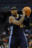 Denver Nuggets v Charlotte Bobcats: Carmelo Anthony Photographic Print by  Streeter