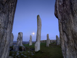 The Callanish Stones at Moonrise Fotografisk tryk af Jim Richardson