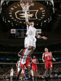 New Jersey Nets v Dallas Mavericks: Shawn Marion and Jordan Farmar Photographic Print by Glenn James
