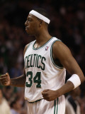 Portland Trail Blazers v Boston Celtics: Paul Pierce Photographic Print by  Elsa