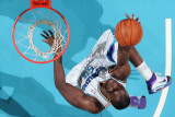 San Antonio Spurs v New Orleans Hornets: Emeka Okafor Photographic Print by Chris Graythen