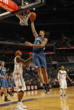Minnesota Timberwolves v Charlotte Bobcats: Michael Beasley Photographic Print by Kent Smith