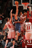 Minnesota Timberwolves v Chicago Bulls: Taj Gibson, Darko Milicic, Omer Asik and Ronnie Brewer Photographic Print by Ray Amati